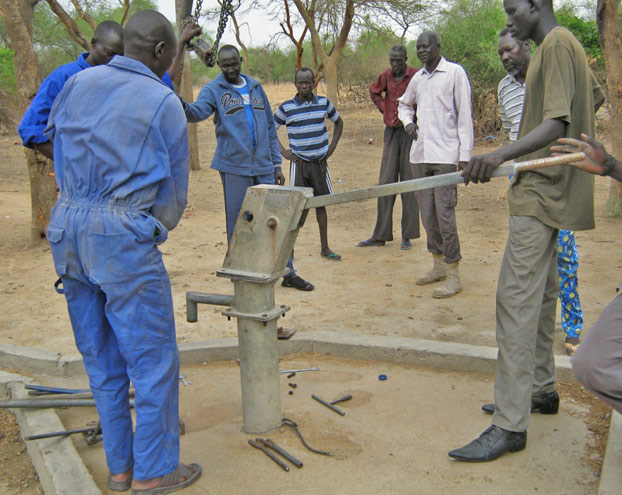 Clean water well rehab